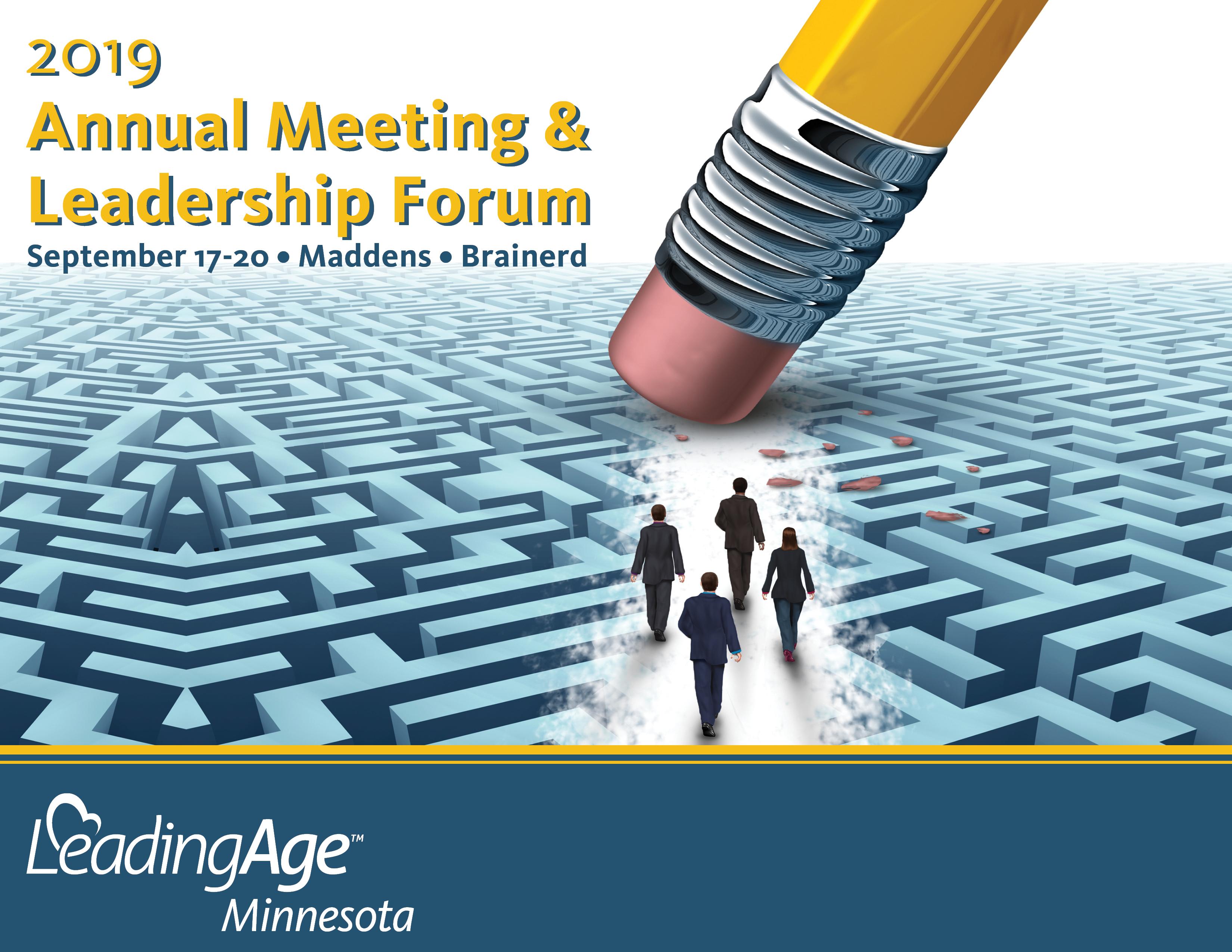 Annual Meeting and Leadership Forum | LeadingAge Minnesota