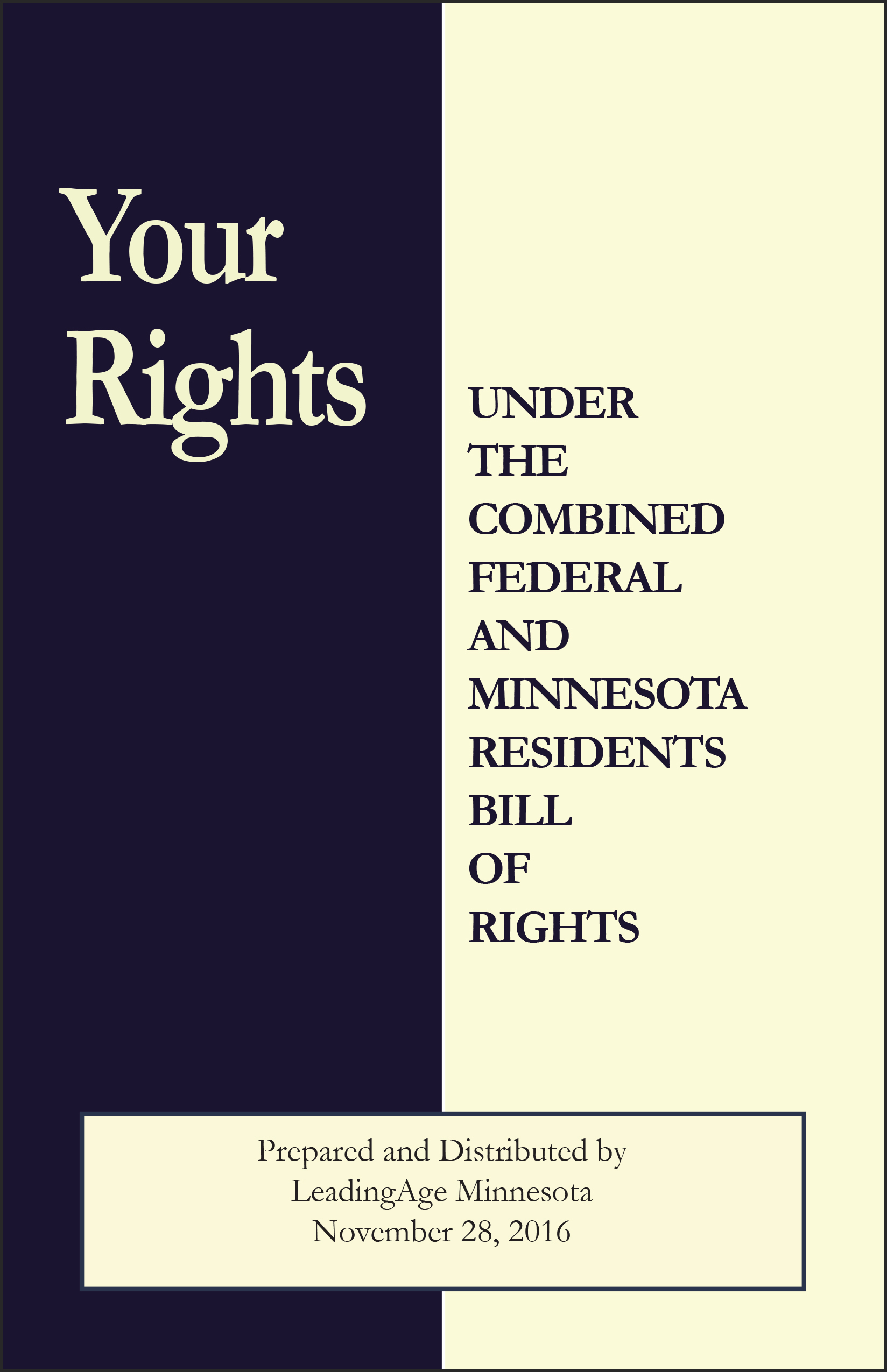 UDPATED -BOR1075 Comb MN & Fed. NH  Residents Bill of Rights